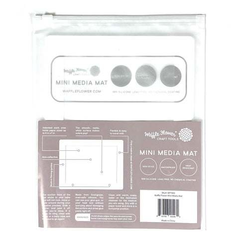 Mini Water Media Mat by Waffle Flower Crafts