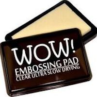 Embossing Stamp Pad By WOW