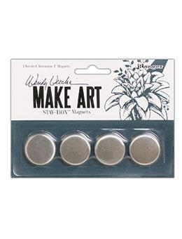 Magnets for Make Art STAY-tion by Wendy Vecchi