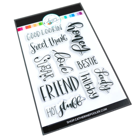 Ways to Say You Stamp Set