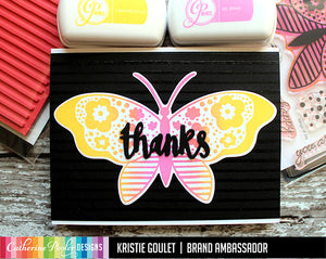 Painted Stripe Background Stamp