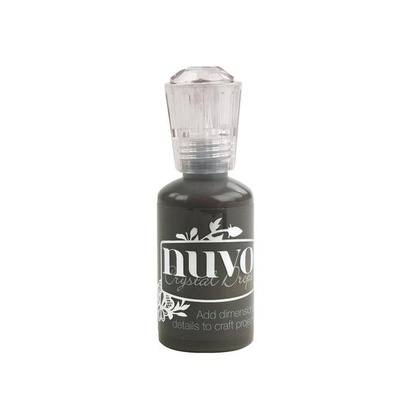 Ebony Black Crystal Drops by Nuvo