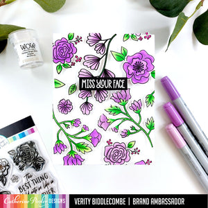 Best Things in Life Floral Stamp Set