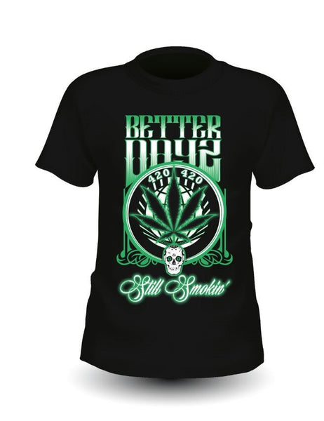 Better Dayz Clothing - 420 Skull T-Shirt -  - 1