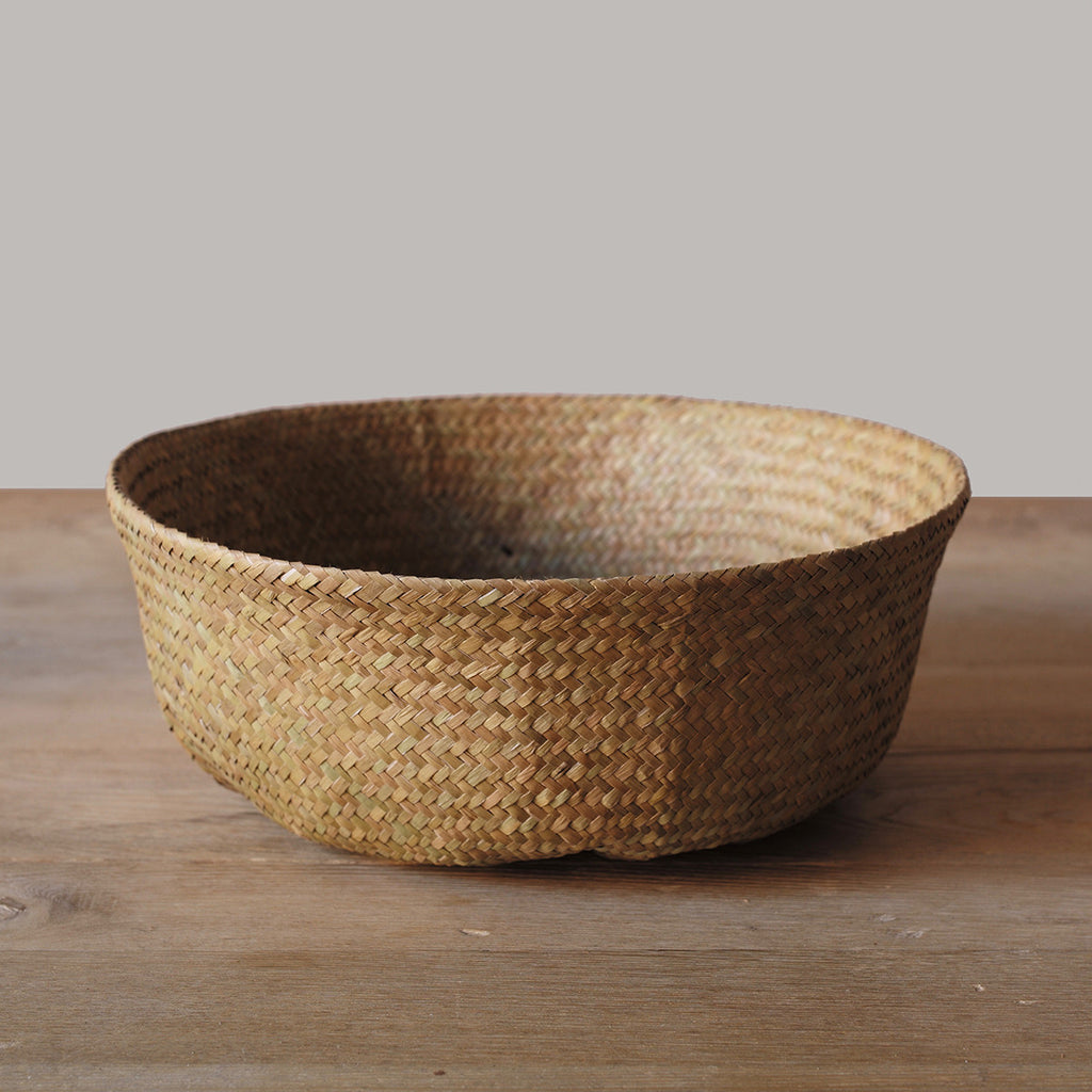 natural folding basket handles
