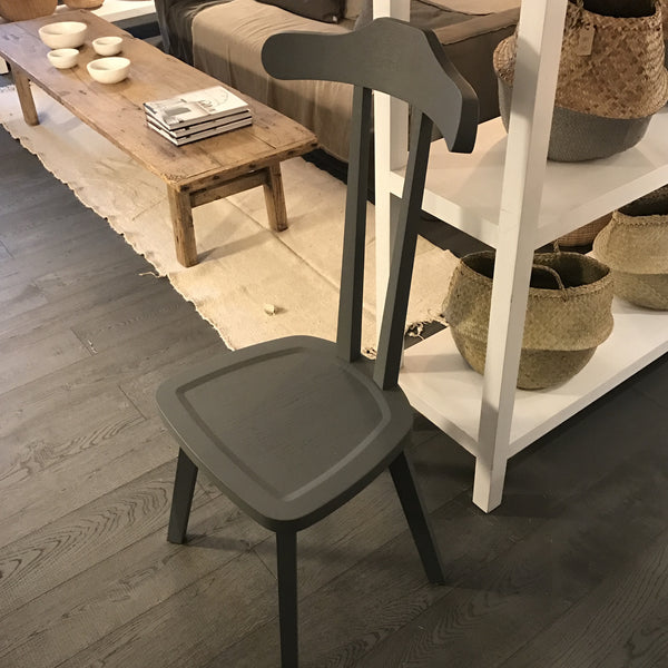 "Grey ""Valet"" chair"