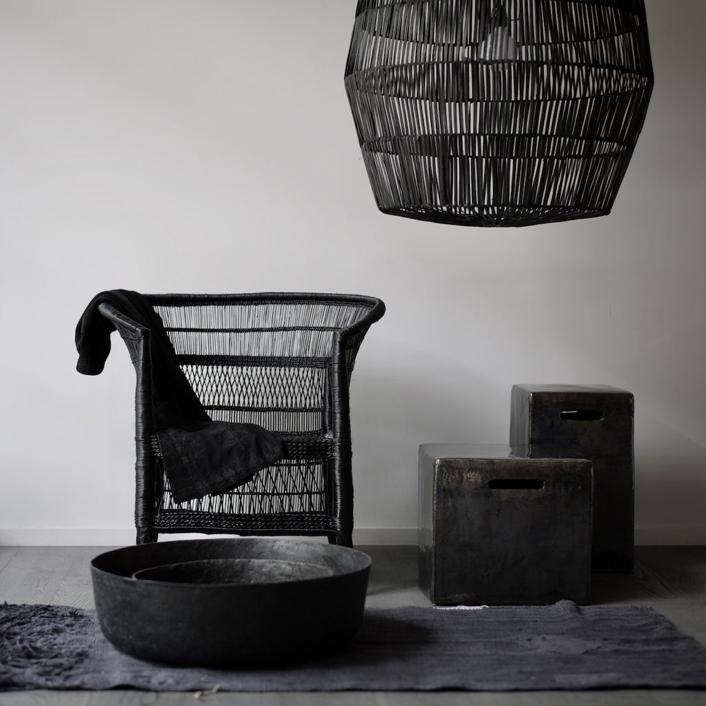 Black Malawi chair