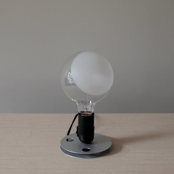 black lampadina table lamp