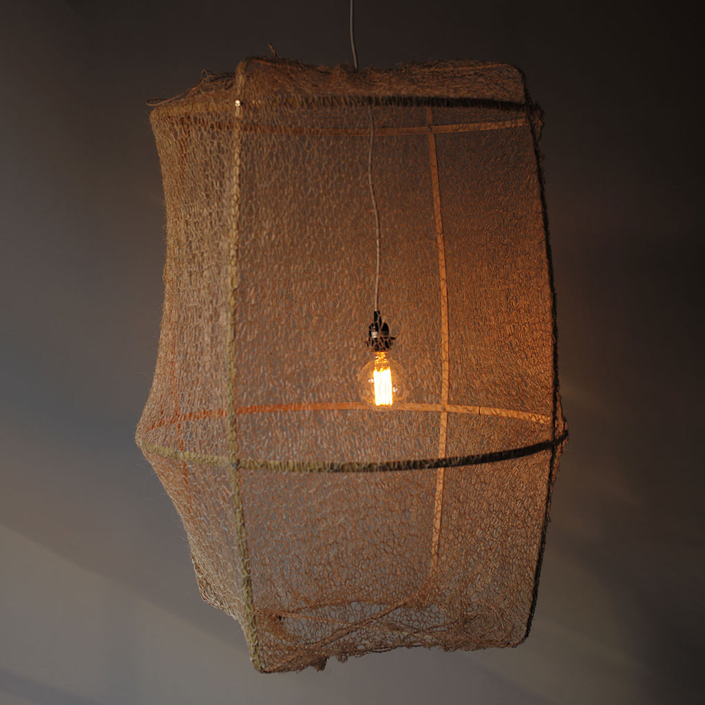 natural sisal net lantern
