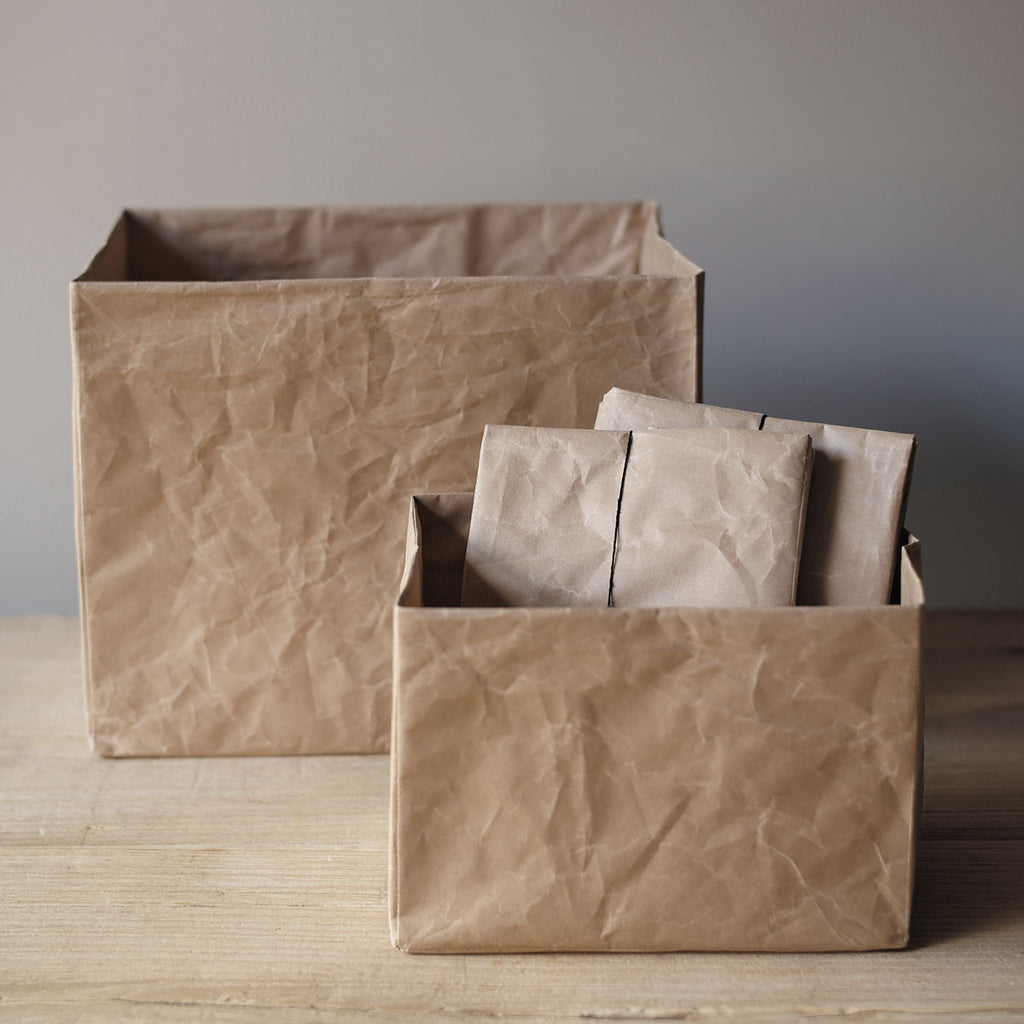 natural paper containers