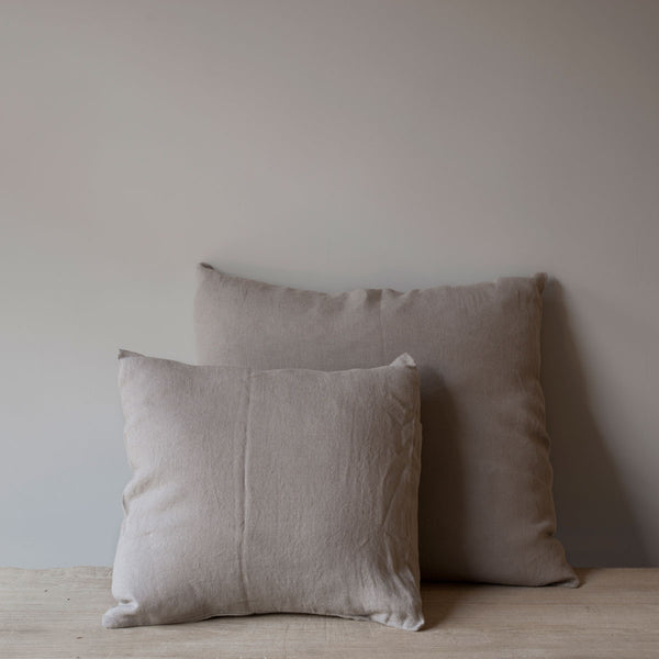 natural spanish linen cushions