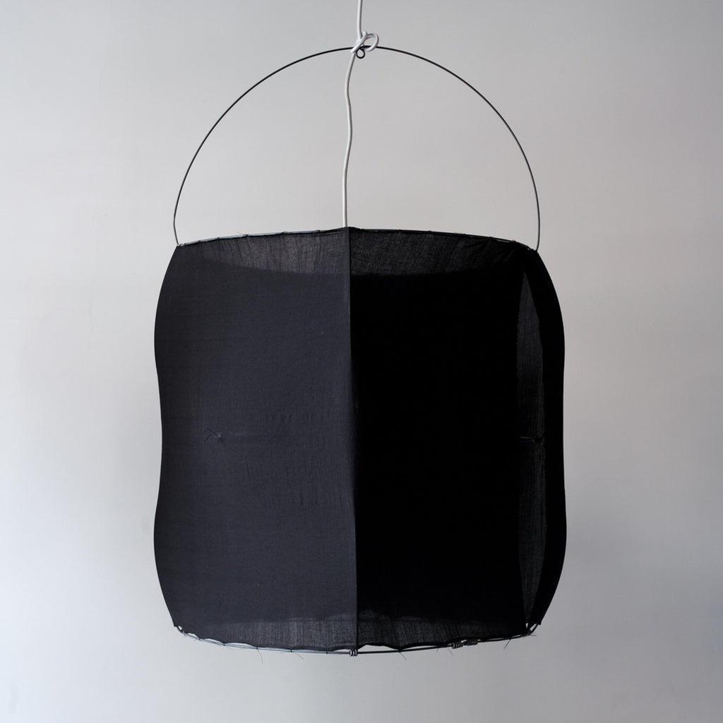 black Koushi lampshade