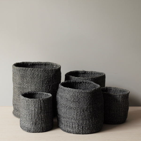 Grey Sisal Baskets