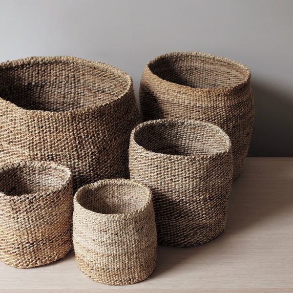 Natural Sisal and Banana Fibre Basket
