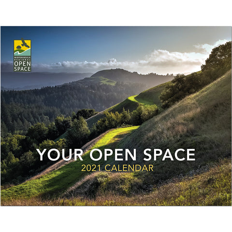 2021 Midpen Open Space Calendar