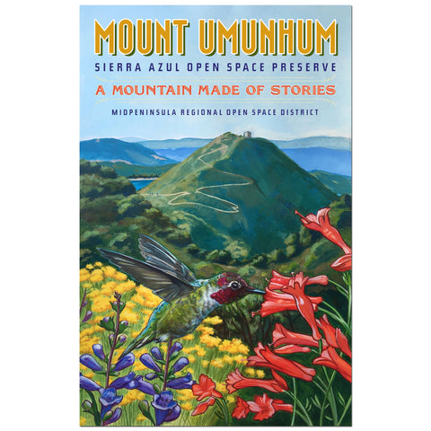 Mount Umunhum Commemorative Poster