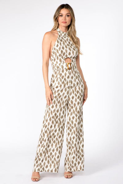 Fanco printed jumpsuit