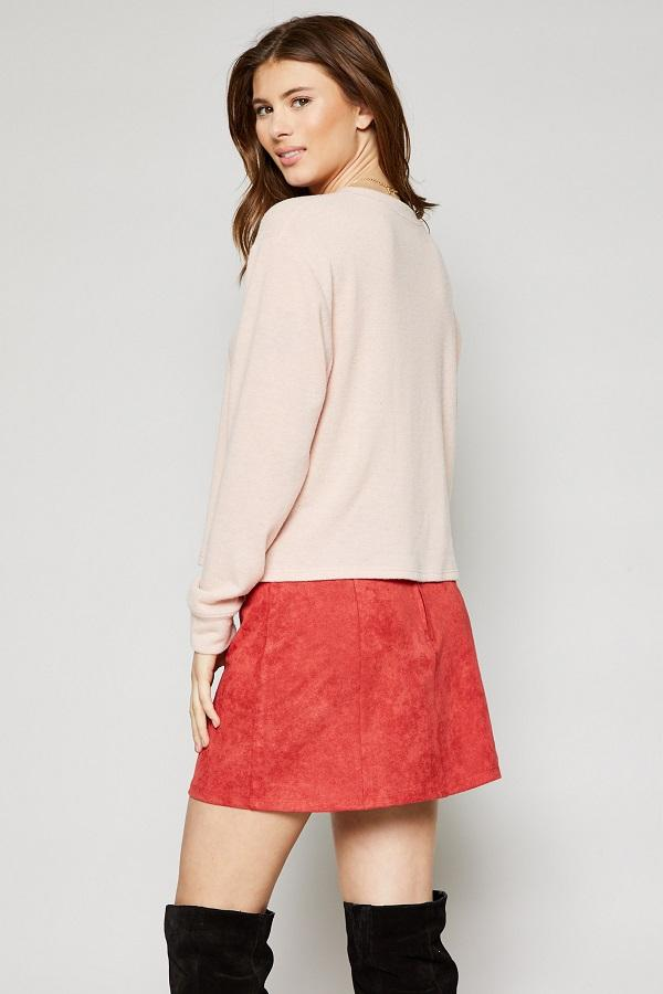 pink womens top