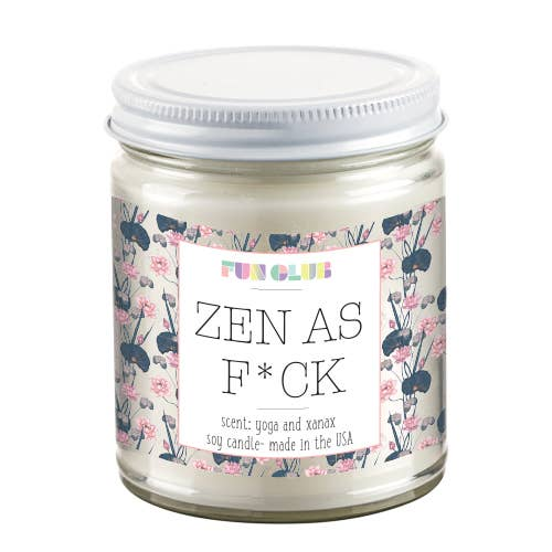 best scented candle 2019 zen as fuck