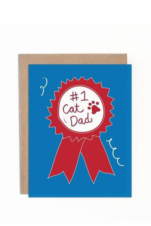 Card - #1 Cat Dad