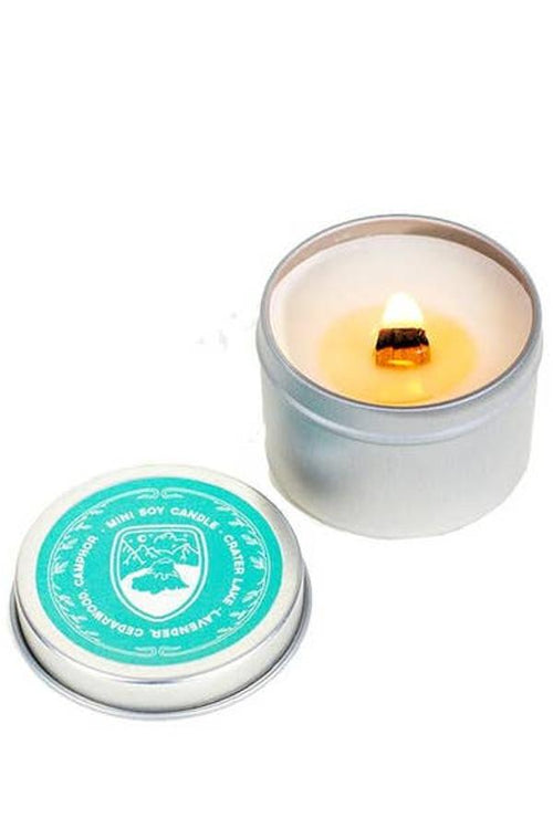 Crater Lake - Wild Lavender Mini Candle