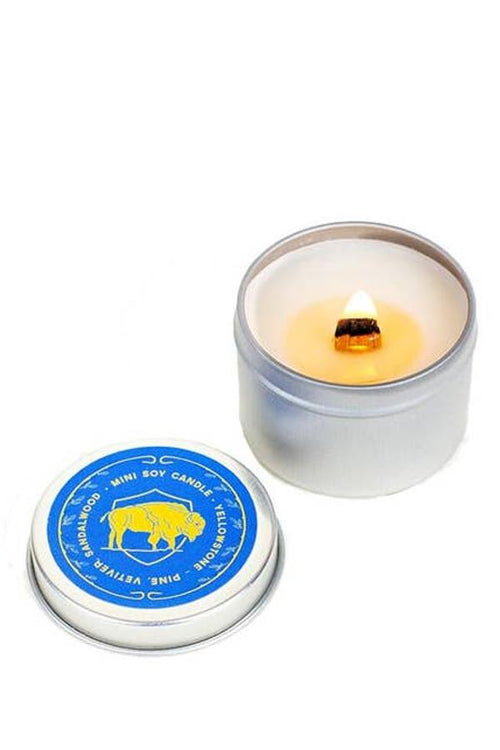 Yellowstone Vetiver Pine Mini Candle