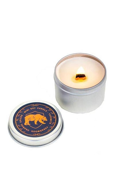 Yosemite Cedarwood Amber Mini Candle