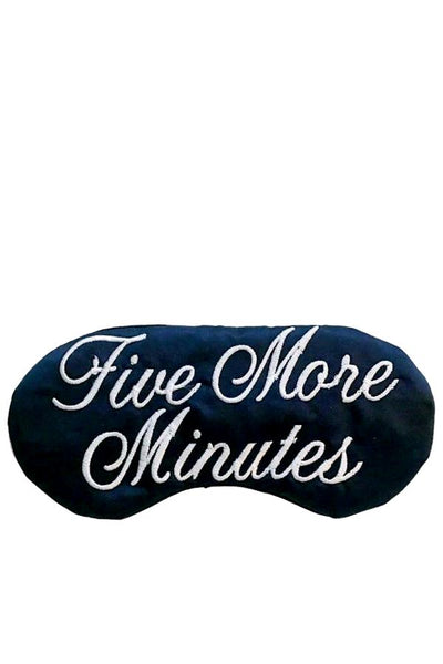 Five More Minutes - Sleep Mask