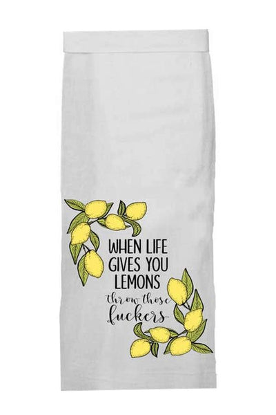 When Life Gives Lemons - Kitchen Towel
