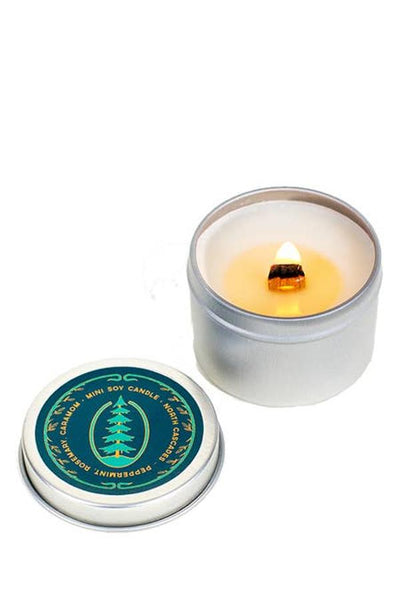North Cascades Peppermint Rosemary Mini Candle