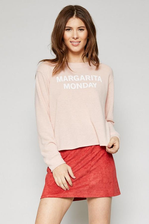 pink printed top for women