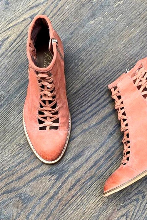 Gelsey Bootie - Coral
