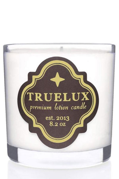 truelux body lotion candle
