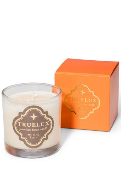 truelux lotion candle