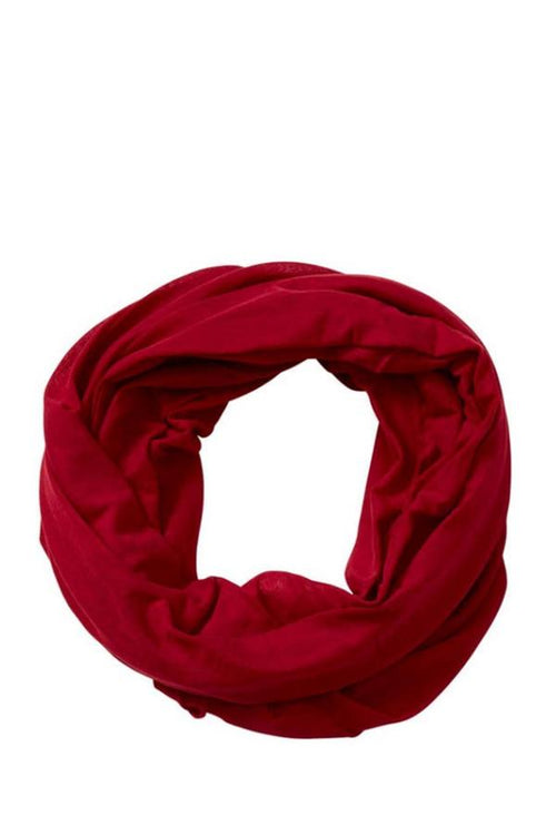 crimson infinity scarf for women