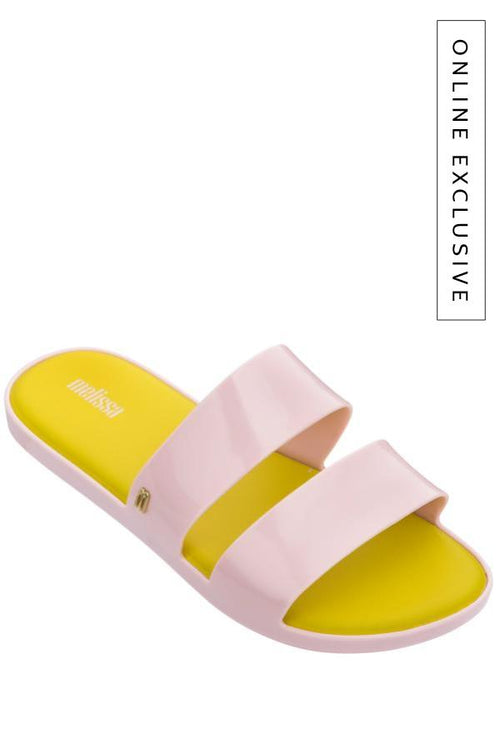 yellow and white womens sandals
