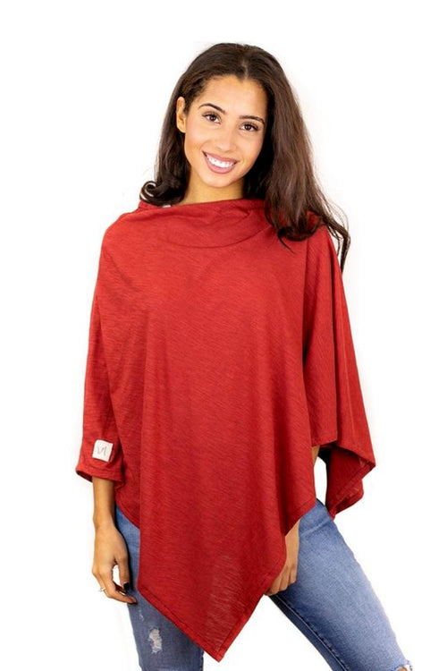 organic cotton poncho for women