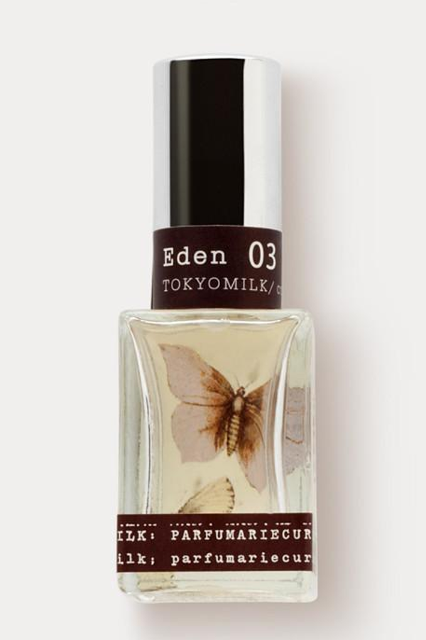 bottle of eden parfume