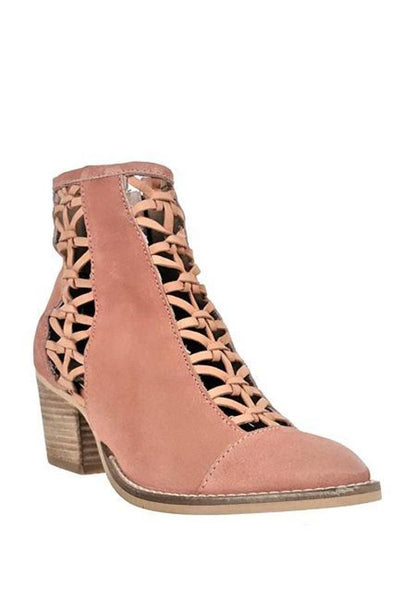rebels perforated bootie