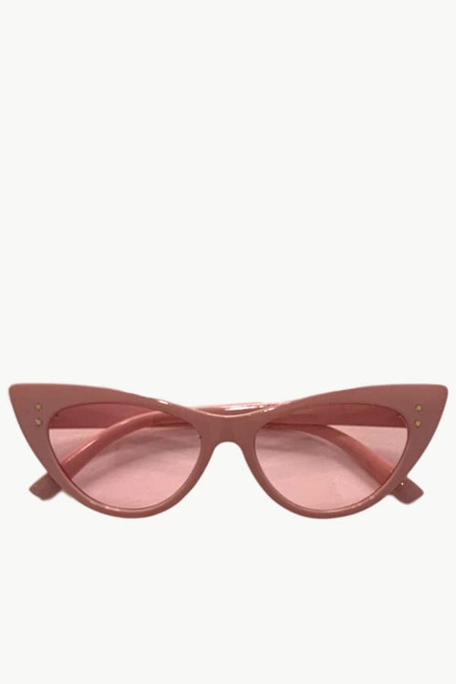 Audrey Cat Eye Sunglasses - Pink