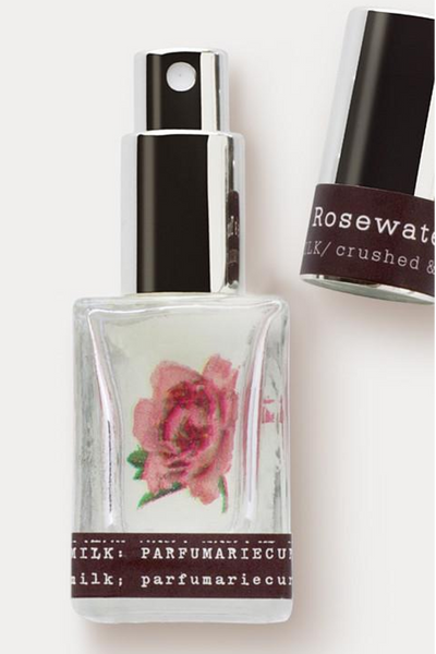 perfume with rose