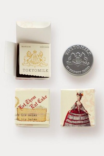 detail of lip balm gift