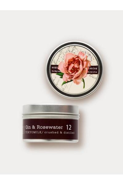 GIN & ROSEWATER TRAVEL CANDLE - Frinje