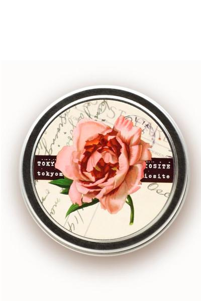 rose travel candle