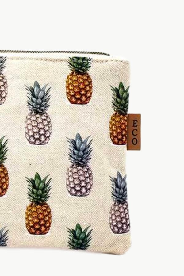 Cosmetic Bag - Pineapple