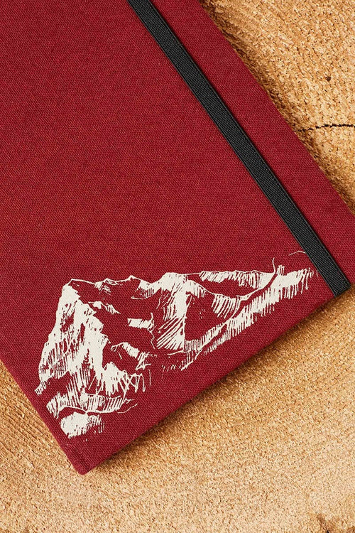 Signature Traveler Journal - Burgundy