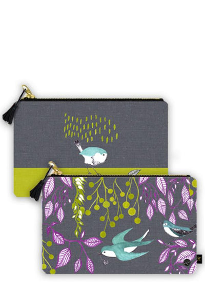 Bird Dance - Clutch Bag