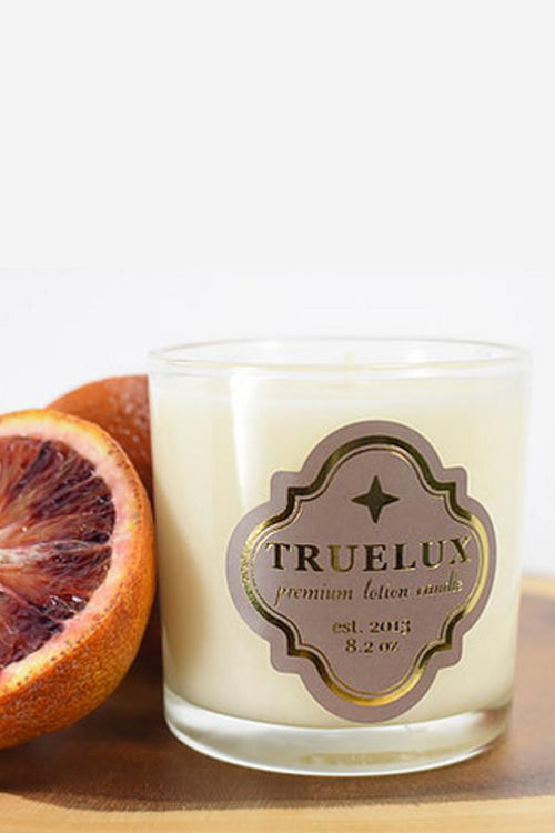 blood orange candle