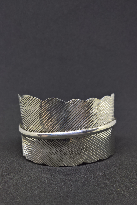 SOLID SILVER CURVED RING