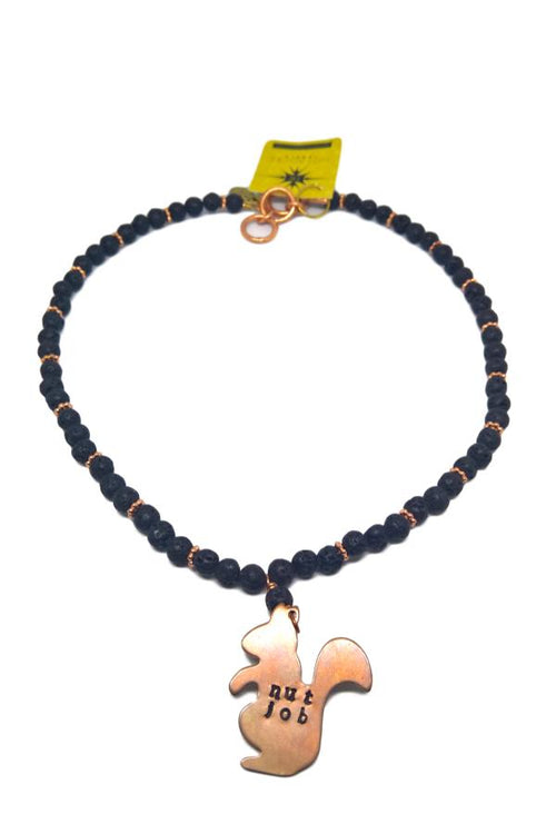 hot rocks nut job necklace